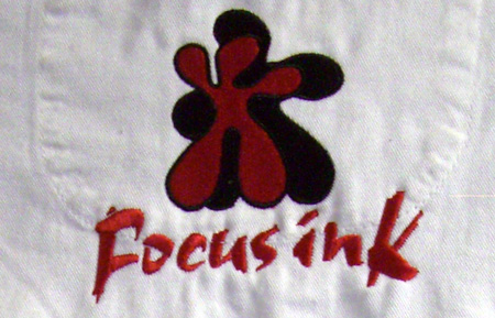 Embroidered FocusInk Logo